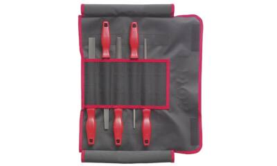 5 részes műhelyreszelő készlet, 200/2 vászontáskában