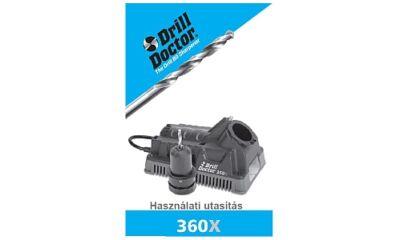 DD360X (megszűnt típus) használati utasítás