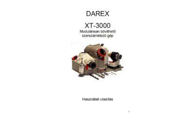 XT3000 használati utasítás és árjegyzék