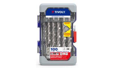 100 részes fúrókészlet HSS T520